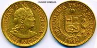 1 Libra 1919 Peru Peru - 1 Libra - 1919 vz  /  vz+  369,00 EUR  zzgl. 6,00 EUR Versand
