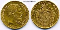 20 Francs 1878 Belgien Belgien - 20 Francs - 1878 f. Stg  285,00 EUR  zzgl. 6,00 EUR Versand