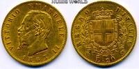 20 Lire 1863 Italien Italien - 20 Lire - 1863 ss  /  vz  270,00 EUR  zzgl. 6,00 EUR Versand
