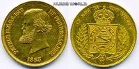 10000 Reis 1853 Brasilien Brasilien - 10000 Reis - 1853 vz+  1000,00 EUR  plus 17,00 EUR verzending
