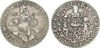 Taler 1630 Stettin Pommern-nach der Verein...