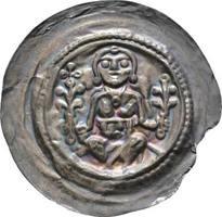 Brakteat 1197-1221 Sachsen-Meißen, markgrä...