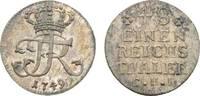 1/48 Taler 1749 CHI Berlin Brandenburg-Preußen Friedrich II. 1740-1786 ... 85,00 EUR  + 5,00 EUR frais d'envoi