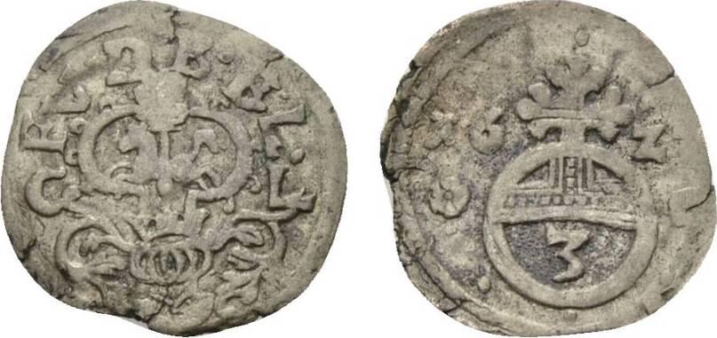 Friedrich Ulrich 1613-1634 Braunschweig-wolfenbüttel 3 Pfennig 1622 C