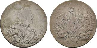 Taler 1751 C, Kle Brandenburg-Preußen Frie...