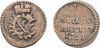 Sachsen-Meiningen Cu Heller Anton Ulrich 1746-1763