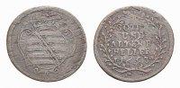 Sachsen-Gotha-Altenburg Cu Heller Friedrich II. 1691-1732