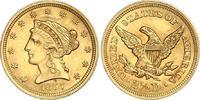 2 1/2 Dollars Gold 1857 Vereinigte Staaten von Amerika  Winzige Druckst... 555.22 US$ 500,00 EUR