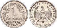 1 Mark 1939  G Drittes Reich  Fast Stempelglanz  320,00 EUR kostenloser Versand