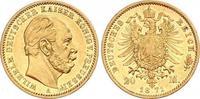 20 Mark Gold 1871  A Preußen Wilhelm I. 1861-1888. Winzige Kratzer, vor... 855.04 US$ 770,00 EUR