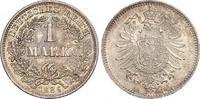 1 Mark 1886  D Kleinmünzen  Schöne Patina. Fast Stempelglanz / Stempelg... 161.38 US$ 140,00 EUR  +  6.92 US$ shipping