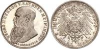 3 Mark 1915 Sachsen-Meiningen Georg II. 1866-1914. Feine Patina. Minima... 480,00 EUR kostenloser Versand