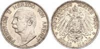 3 Mark 1909  A Anhalt Friedrich II. 1904-1918. Schöne Patina. Winzige K... 161.38 US$ 140,00 EUR  +  6.92 US$ shipping