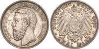 2 Mark 1900  G Baden Friedrich I. 1856-1907. Prachtexemplar. Schöne Pat... 732.89 US$ 660,00 EUR