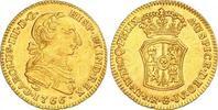 2 Escudos Gold 1766 Kolumbien Carlos III 1759-1788. Selten. Winzige Ran... 1943.27 US$ 1750,00 EUR