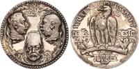 Silbermedaille 1915 Erster Weltkrieg Wilhelm II. und seine Verbündeten ... 444.18 US$ 400,00 EUR