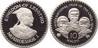 10 Maloti 1979 Lesotho, Königreich Moshoeshoe II. 1966-1990. Polierte P... 518.71 US$ 450,00 EUR free shipping