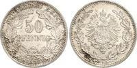 50 Pfennig 1877  H Kleinmünzen  Prachtexemplar. Fast Stempelglanz  270,00 EUR kostenloser Versand