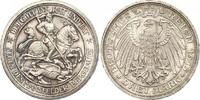 3 Mark 1915 Preußen Wilhelm II. 1888-1918. Schöne Patina. Winziger Rand... 770,00 EUR kostenloser Versand