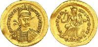 Gold 408-450 n. Chr. Kaiserzeit Theodosius II. 408-450. Kleiner Randfeh... 710,00 EUR kostenloser Versand