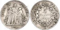 5 Francs AN 8 L Frankreich Erste Republik. Kleine Randfehler und Kratze... 223.58 US$ 200,00 EUR free shipping