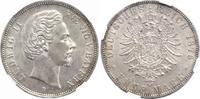 5 Mark 1876 Bayern Ludwig II. 1864-1886. Vorzüglich +  385.42 US$ 350,00 EUR free shipping