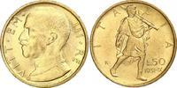 50 Lire Gold 1931  R Italien-Königreich Vittorio Emanuele III. 1900-194... 363.40 US$ 330,00 EUR free shipping