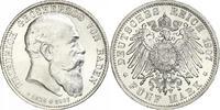 5 Mark 1907 Baden Friedrich I. 1856-1907. Prachtexemplar. Winzige Kratz... 268.29 US$ 240,00 EUR free shipping