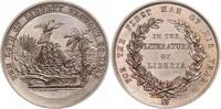 Bronzemedaille  Liberia  Vorzüglich - Stempelglanz  324.18 US$ 290,00 EUR free shipping