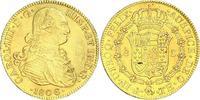 8 Escudos Gold 1806 Mexiko Carlos IV. 1789-1808. Vorzüglich  2235.75 US$ 2000,00 EUR free shipping