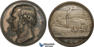Silver Medal 1886 Sweden David Carnegie, H...