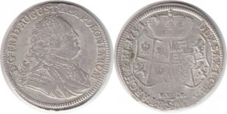 1/3 Taler 1753 Altdeutschland Sachsen Frie...