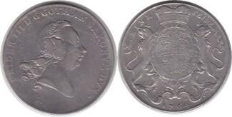 Taler 1764 Sachsen-Gotha-Altenburg Friedri...