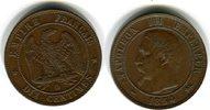 10 Centimes 1854 Frankreich Frankreich (Napoleon III. 1852-1870) 10 Cen... 40,00 EUR  zzgl. 4,00 EUR Versand