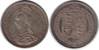 Shilling 1887 Grossbritannien Victoria Shilling 1887 Schöne Patina. Vor... 55,00 EUR  +  5,00 EUR shipping