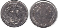 Probe 10 Francs 1965 Kongo Zaire Probe 10 Francs 1965 / Kupfer - Nickel... 395,00 EUR