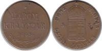3 Krajczar 1849 NB Haus Habsburg Franz Joseph I. Ungarischer Freiheitsk... 140,00 EUR  zzgl. 4,00 EUR Versand