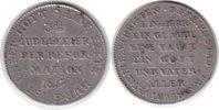 Silberabschlag des Doppeldukaten 1817 Altdeutschland Frankfurt Silberab... 65,00 EUR  zzgl. 4,00 EUR Versand
