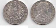 Taler 1857 Altdeutschland 'Mit Dächern am Eschenheimer Turm.' Winziger ... 885,00 EUR  zzgl. 4,00 EUR Versand