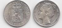 Gulden 1907 Niederlande-Königreich Wilhelmina I. 1890-1948 Fast Stempel... 150,00 EUR  zzgl. 4,00 EUR Versand
