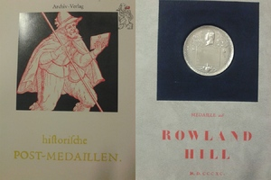 Deutschland Historische Postmedaillen Re...
