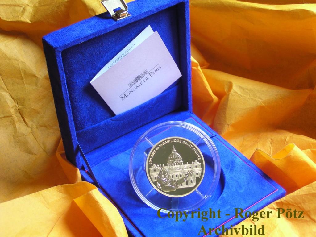 100 Euro 2006 Gold 5 Unzen Petersdom Pp nur 99 Ex Auflage ! Rarität !