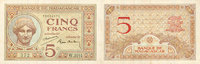 1926 ANCIENT FRENCH COLONIES Madagascar. Billet. 5 francs type 1926, n... 28,00 EUR  +  7,00 EUR shipping
