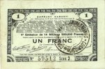 23.4.1915 FRENCH EMERGENCY NOTES Pas de Calais, Somme et Nord, Groupem... 10,00 EUR  +  7,00 EUR shipping