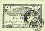 23.4.1915 FRANZÖSISCHE NOTSCHEINE Pas de Calais, Somme et Nord, Groupe... 10,00 EUR