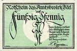 1920 GERMANY - EMERGENCY NOTES (1914-1923) A - J Böel. Amstsbezirk. Bi... 10,00 EUR  +  7,00 EUR shipping