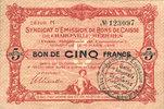 11.3.1916 FRANZÖSISCHE NOTSCHEINE Charleville et Mézières (08), Syndic... 15,00 EUR  zzgl. 7,00 EUR Versand
