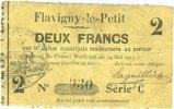 24.5.1915 FRANZÖSISCHE NOTSCHEINE Flavigny-le-Petit (02). Commune. Bil... 100,00 EUR  zzgl. 7,00 EUR Versand