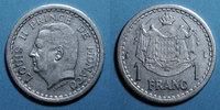 1943 EUROPA Monaco. Louis II (1922-1949). 1 franc n. d. (1943) ss+  4,50 EUR