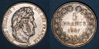 1847 A FRANZÖSISCHE MODERNE MÜNZEN Louis Philippe (1830-1848). 5 franc... 175,00 EUR